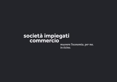 Grafica per SIC Società Impiegati di Commercio Ticino