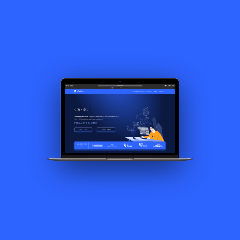 Brand e sito web Infotime software gestionale
